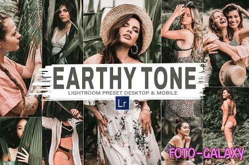 10 Earthy Tone Mobile & Lightroom - 5909190