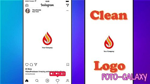 Clean Logo Reveal 886511 - Project for After Effects