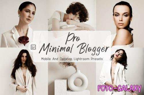 10 Pro Minimal Blogger Desktop And Mobile Presets - 1240699