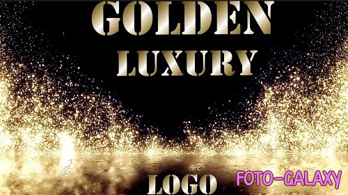 Golden Luxury Logo 896831 - Premiere Pro Templates