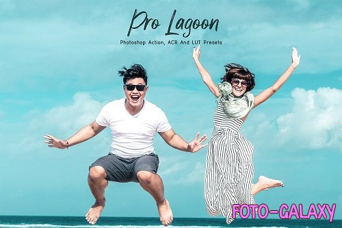 10 Photoshop Actions ACR Presets LUT filters Neo Lagoon - 1359382